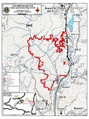 The 416 Fire has scorched more than 27,000 acres and