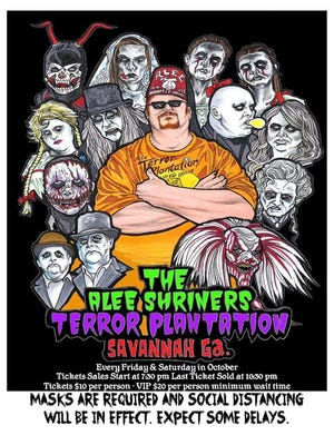 Find more information about The Alee Shriners Terror Plantation at AleeShriners.org.