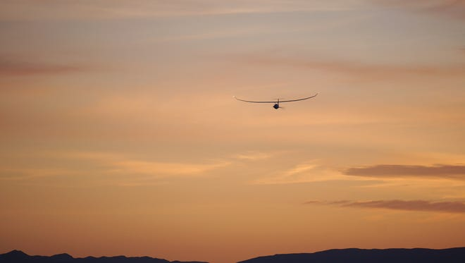The New Mexico State University Physical Science Laboratory's Unmanned Aircraft Systems Flight Test Center helped Vanilla Aircraft with a 25-hour flight at the Las Cruces International Airport, April 4.