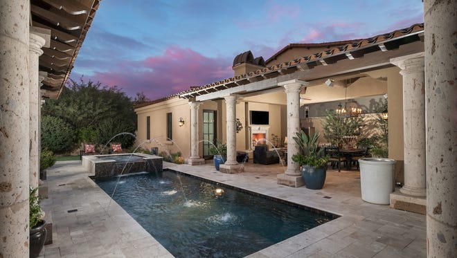 Greg Kiraly, chief operating officer for Hydro One, and his wife Patricia sold this 4,143-square-foot home in Scottsdale's Silverleaf community.