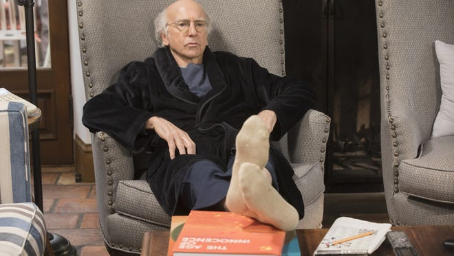 Larry David remains perturbed in the ninth season of HBO's 'Curb Your Enthusiasm.'