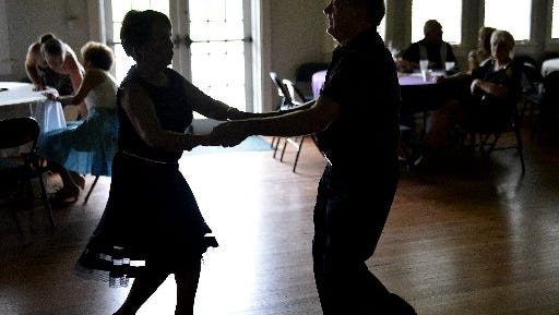 Seniors ballroom dancing is scheduled for Saturday night at American Legion Post 126, Jensen Beach.