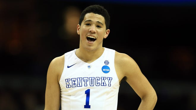Devin Booker impressed NBA scouts at the draft combine in Chicago.