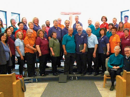 Courtesy photo   Singing Out, a local LGBT community chorus, will begin rehearsals Aug. 25 as members begin preparation for the 2016 GALA Festival.