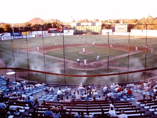 summer baseball in Phoenix