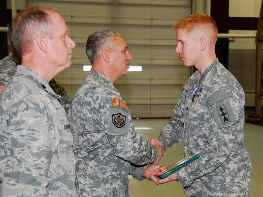 Wisconsin National Guard Soldier awarded Soldiers Medal