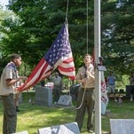 Franklin Cemetery ceremony honors fallen service members