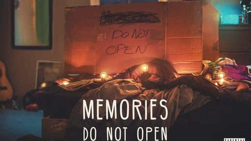 """This image released by Columbia Records shows """"Memories...Do Not Open,"""" a new release by The Chainsmokers."""