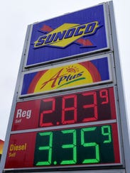 Sunoco at 4650 Lincoln Way East, Fayetteville, has