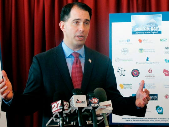 Wisconsin Gov. Scott Walker.