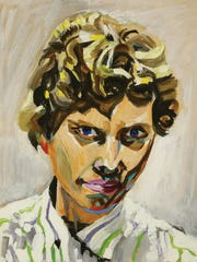 Beverly Hopkins, Self Portrait, n.d., oil on canvas
