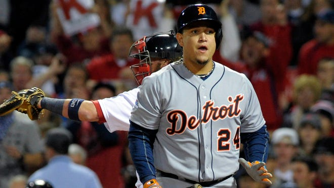 A banged-up Miguel Cabrera batted .262 with just two extra-base hits in 45 postseason plate appearances.