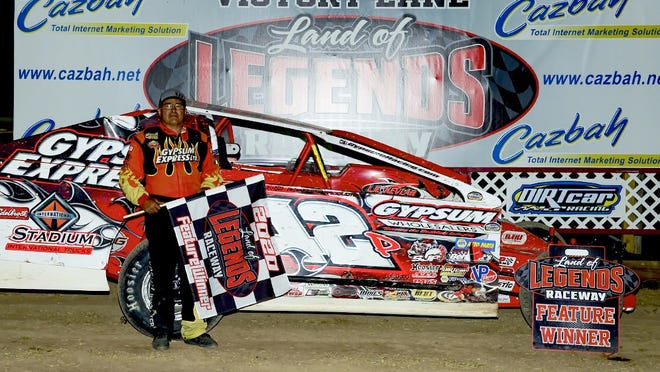 Pat Ward celebrated his first win at Canandaigua since 2000 on Saturday night.