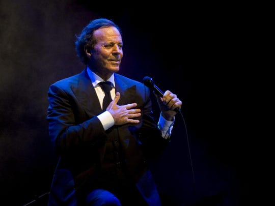 Saturday: Julio Iglesias at Fantasy Springs