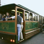 Hop aboard — it's time for July's F.A.T. Trolley Hop, Frankfort Avenue's monthly Friday night trolley hop and shopping event.