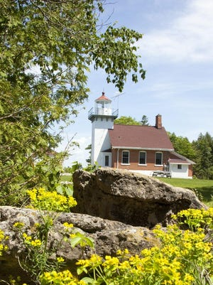 Visitors can check out the workings of Sherwood Point Lighthouse in Sturgeon Bay June 10 and 11 during the Door County Lighthouse Festival. They are the only two days of the year the light operated by the U.S. Coast Guard is open to the public.