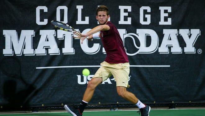 FSU senior Lucas Poullain has played a large role in the Seminoles getting off to their best start in program history.
