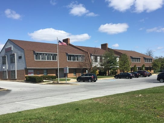 An office building at 600 N. Route 73 in Evesham could