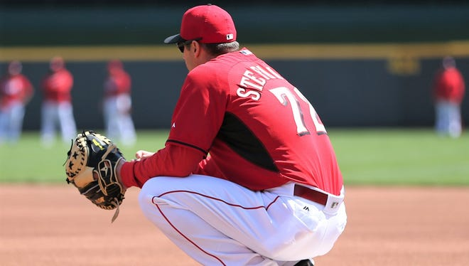 Redford Union High grad Mike Stefanski is the Major League catching coordinator for the Cincinnati Reds.