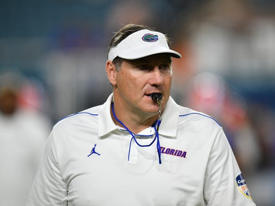Florida coach Dan Mullen definitely won the coaching hire rivalry of 2018 over Florida State hire Willie Taggart.