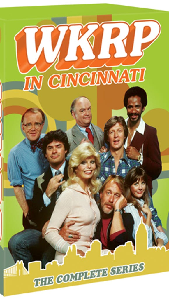 "The 13-disc ""WKRP in Cincinnati: The Complete Series"" will be released Oct. 28, 2014."