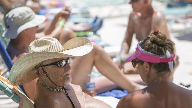 Nude Recreation Week returns July 8-15. Shangri La Ranch in New River will take part in International Skinny Dip Day on July 14.