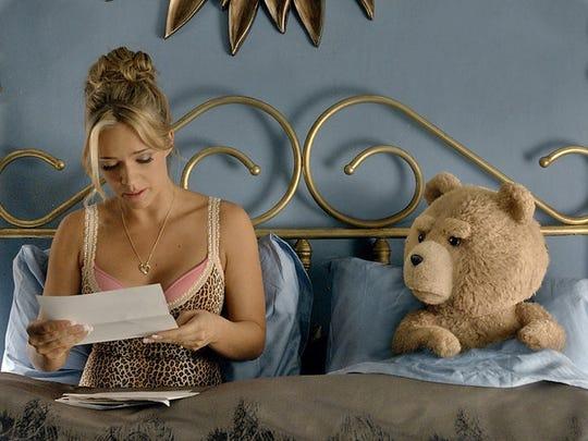 Jessica Barth as Tami-Lynn and Ted voiced by Seth MacFarlane