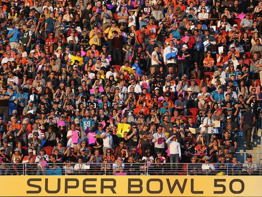 Super Bowl 50 in Santa Clara, Calif on Feb. 7, 2016.