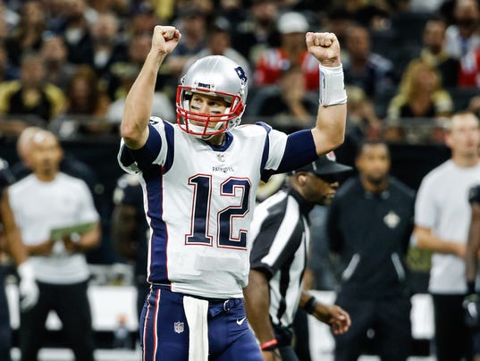 USP NFL: NEW ENGLAND PATRIOTS AT NEW ORLEANS SAINT S FBN NO NEP