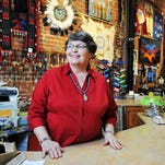 Prairie Star Gallery co-owner Linda Boyd poses for a portrait at the Prairie Star Gallery in downtown Sioux Falls.
