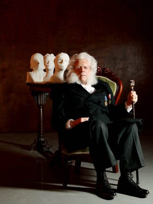 """Chip Arnold as Henrik Ibsen in Nashville Rep's regional premiere of Doug Wright's """"Posterity."""""""