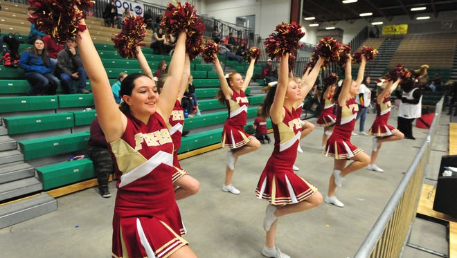 Fort Benton plays Tri-City on Wednesday in the openinig round of the girls' Northern C Divisional Tournament in the Four Seasons Arena.