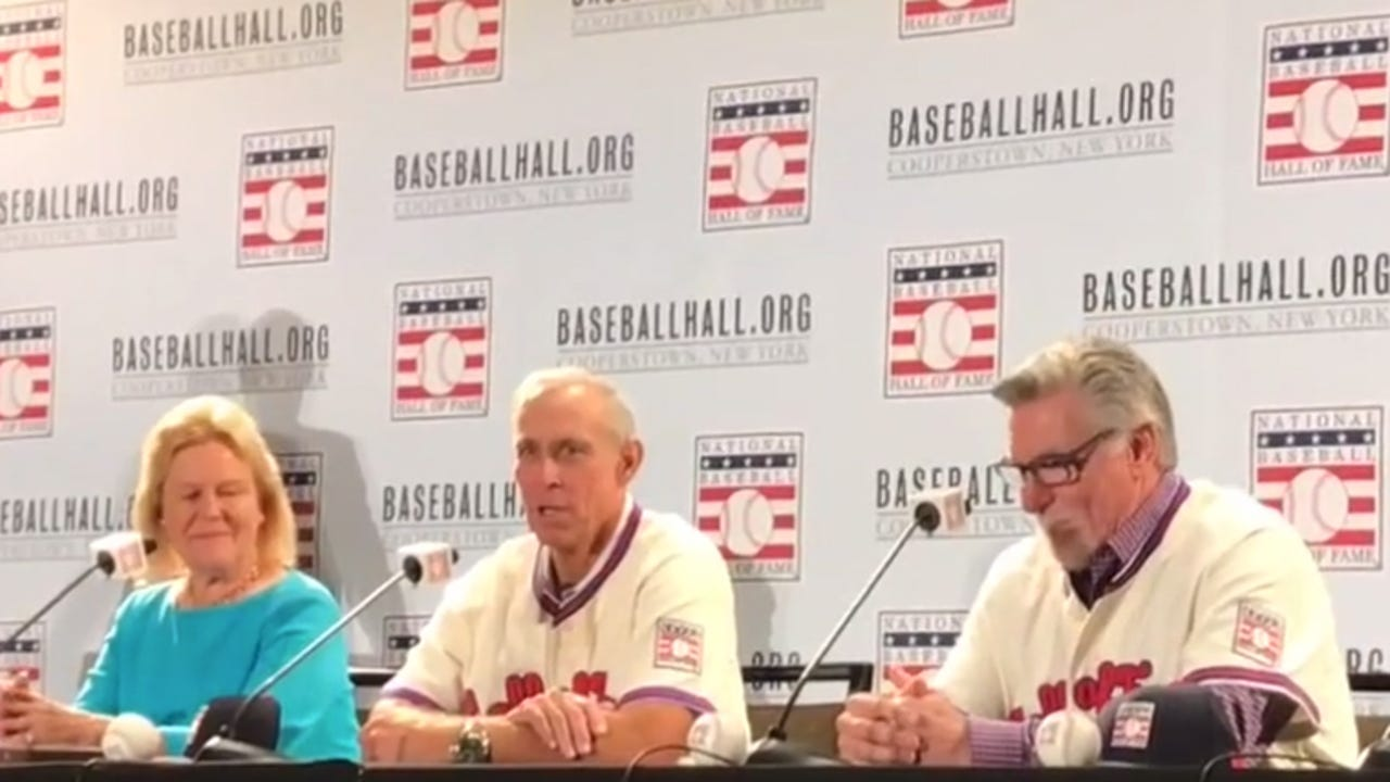 """Tigers great Alan Trammell is """"humbled"""" by his election to the Hall of Fame."""