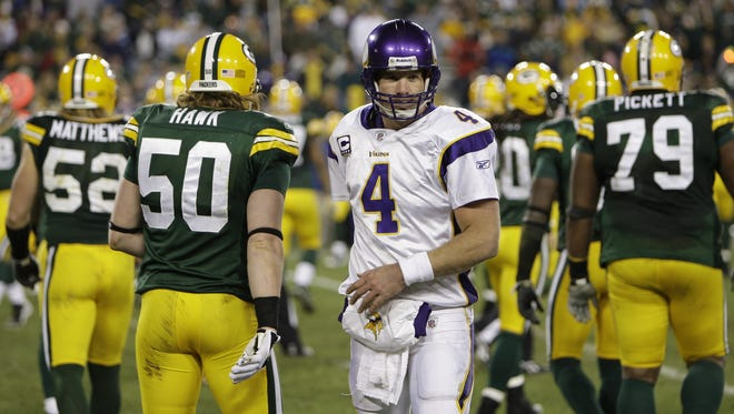 Brett Favre didn't get a warm welcome during his last visit to Green Bay's Lambeau Field.