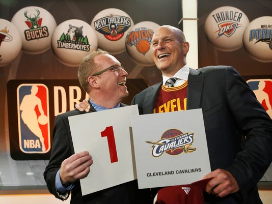 APTOPIX NBA Draft Lottery Basketball