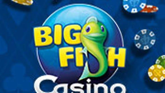 Screen grab image of Big Fish Games' Big Fish Casino logo.