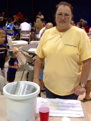 In last year's I Scream for FUEL contest, third place was won by Brenda Corlew, who offered Pecan Caramel Crunch.