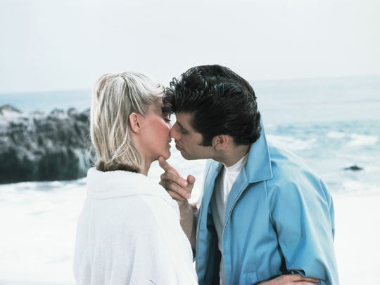 Sandy (Olivia Newton-John) and Danny (John Travolta)