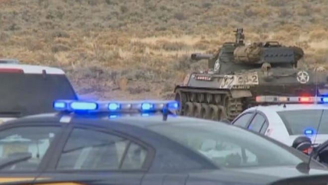 Two people were killed by an explosion in a World War II-era tank at a rural Oregon firing range on Tuesday afternoon, according to police.