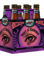 Vermont's Magic Hat Brewing Company's Heart of Darkness stout.