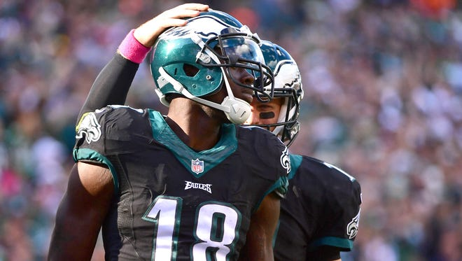 Eagles wide receiver Dorial Green-Beckham had his best game of the season in Week 11, after going without a catch in Week 10.