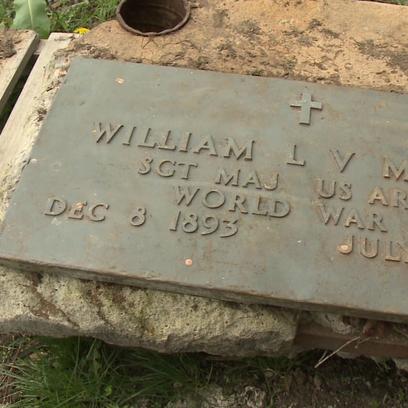 William Meyers headstone