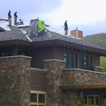 Renovations to the Sun Valley Lodge are nearly complete.