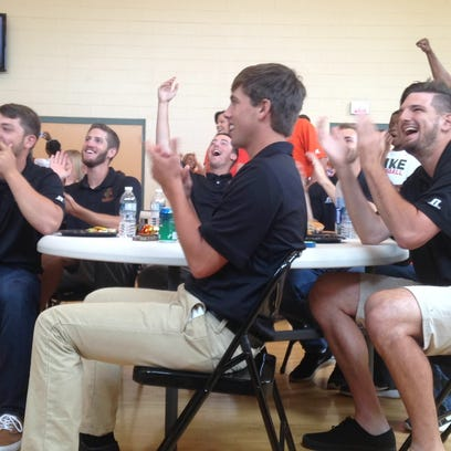 FAMU baseball players react after learning they will