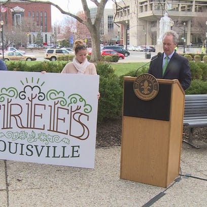 Louisville includes tree-tracking gps in new budget