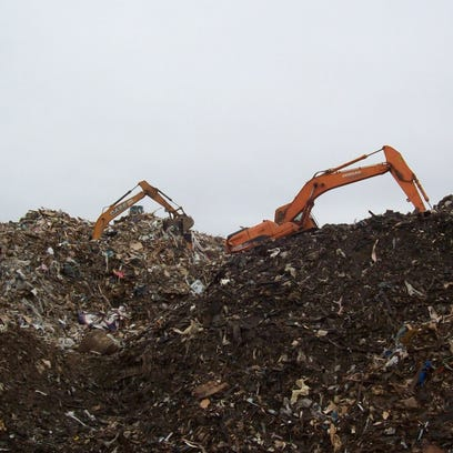 Photo from Rolling Hills landfill taken by FDEP in