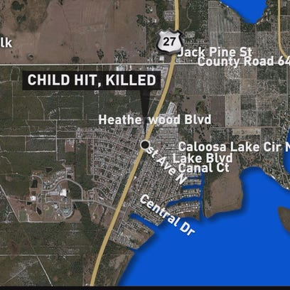 Child hit while trick-or-treating