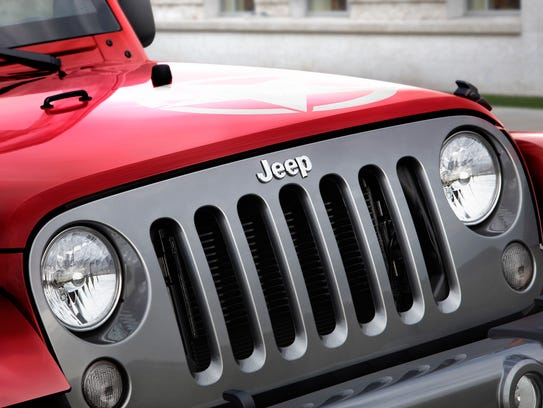 2014 Jeep Wrangler Unlimited grille