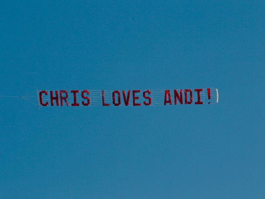 Hometown Chris sign