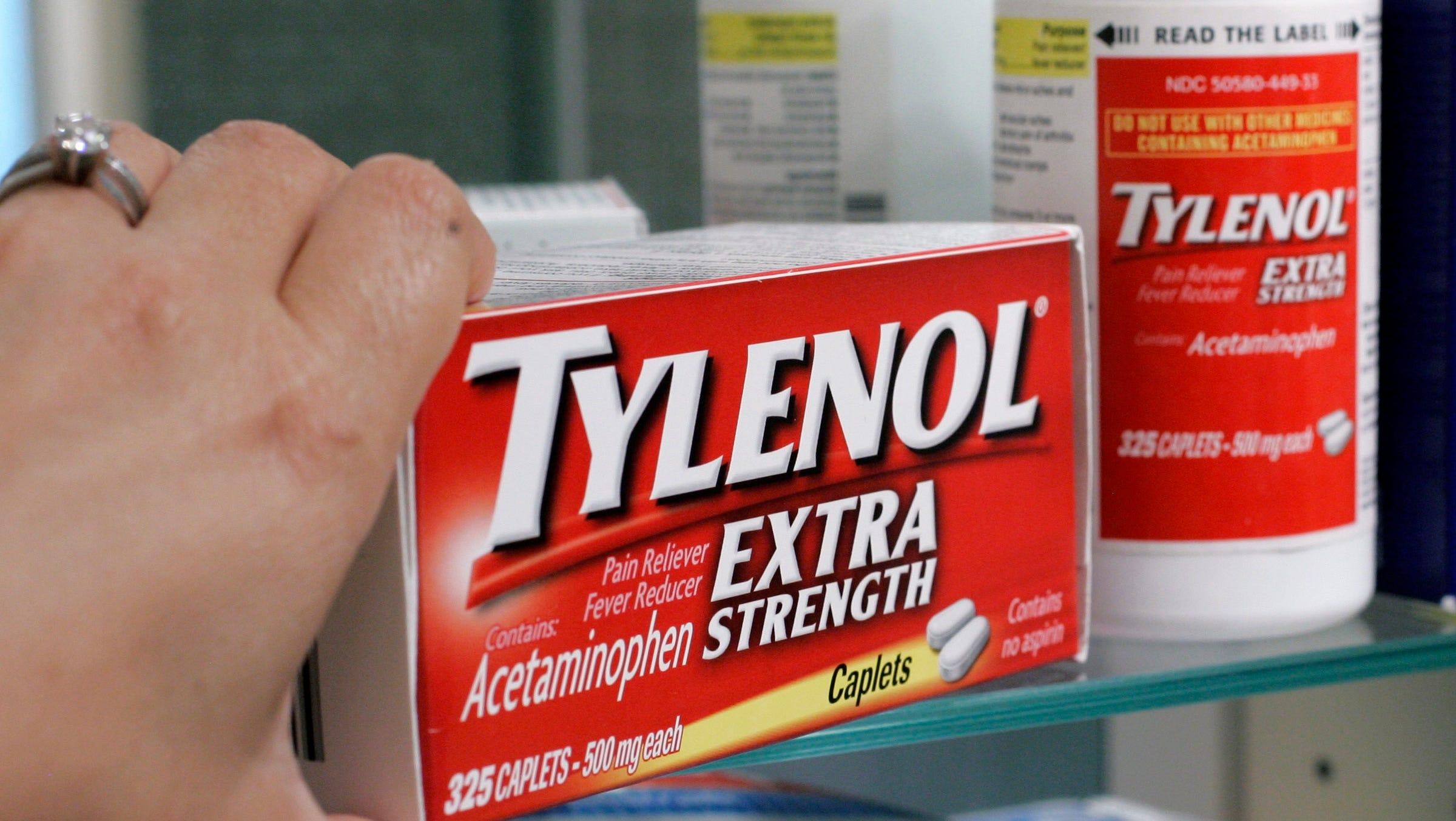 Tylenol A Cancer Risk California Considers Acetaminophen Warning